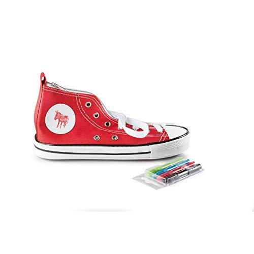 Federmäppchen in Schuhform – Fuß Dinge
