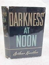 Arthur Koestler DARKNESS AT NOON 1941 Macmillan NY Early Book Club Ed. w/Receipt