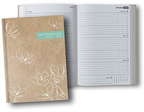 Lehrerkalender 2020 2021 A4 Hardcover: Lehrer-Planer 2020/2021 Din A4, Kalender & Planer für die Unterrichtsvorbereitung, Schuljahr 2020/2021
