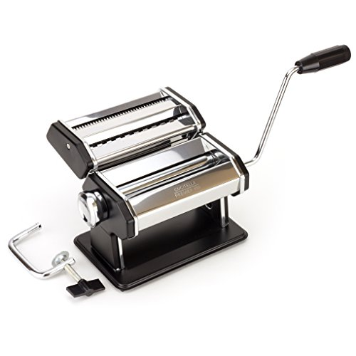 Premium Pasta Maker - Now Easily Make Delicious Spaghetti & Fettucine from Scratch   Durable P-150 Model, Food-Grade Stainless Steel & ABS Plastic, Affordably Priced by Cucitella