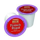 Dolche Premium Coffee, Cápsulas de Café Americano, Compatible con Keurig K-cup 2.0, Caja de 100 Cápsulas, 2 Variedades