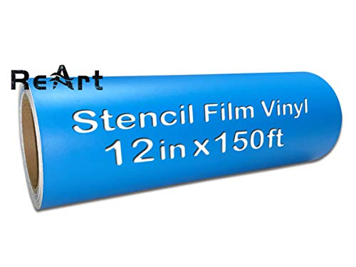 Stencil Film Roll Vinyl - 12.125 inch X 150 Ft for Cricut, DIY Crafting,...