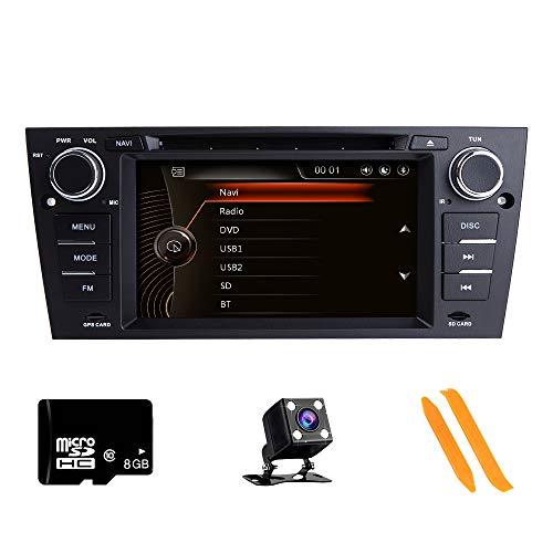 ZLTOOPAI per BMW E90 E91 E92 E93 Serie Din doppia unità 7' Capacitivo Multi Touch Screen autoradio GPS Radio con fotocamera di rimozione mappa gratuita