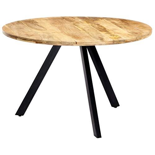 vidaXL Table de salle ¨¤ manger 120x73 cm Bois de manguier solide