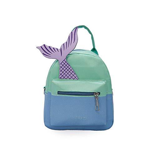 lizeyu Ladies PU leather backpack travel shoulder bag.