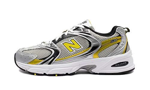 New Balance Jungen MR530SC Trailrunning-Schuh, Grau, 32 EU