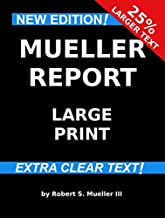 Mueller Report: Large Print