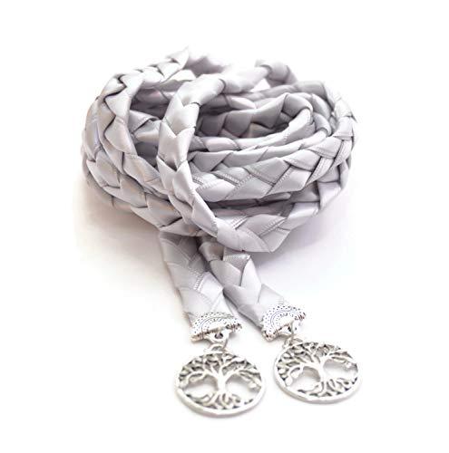 Silver Elvish Tree of Life Wedding Handfasting Cord #DivinityBraid #Wedding #Celtic #Handfasting #TreeOfLife
