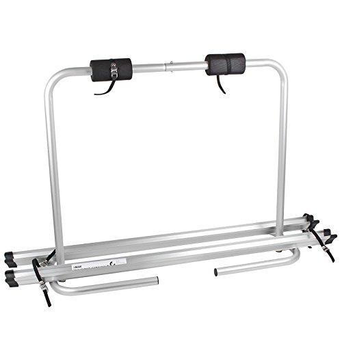Fiamma - Portabici per timone Caravan XLA, per due biciclette, richiudibile