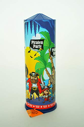 Weco Piraten Party 21cm Riesen, Tischfeuerwerk, gefüllt mit vielen Partyartikeln Piratenartikeln