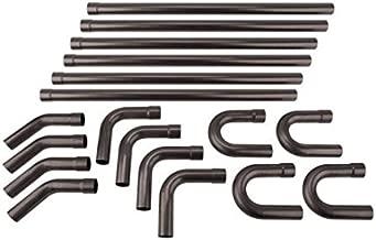Pickup Truck Mild Steel Mandrel Bend Dual Exhaust Pipe Kit, 2-1/2