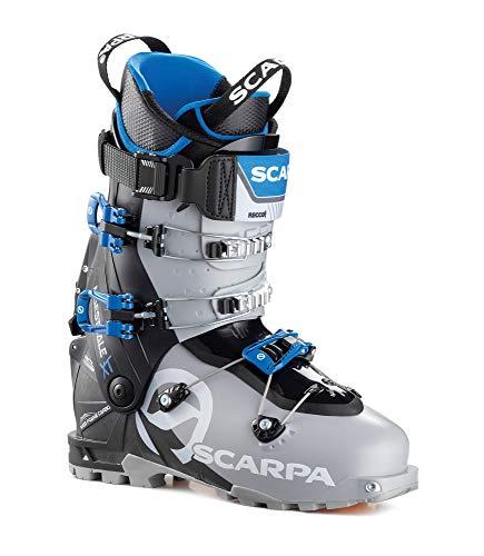 Scarpa M Maestrale XT Grau-Schwarz, Herren Touren-Skischuh, Größe EU 46.5 - Farbe Cool Grey - Black Blue