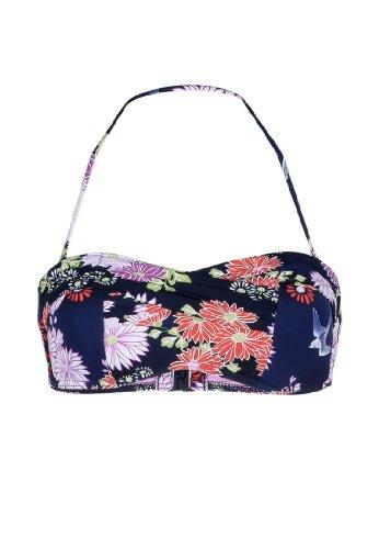 Seafolly Women's Songbird Bandeau Bikini Top, Indigo, 10