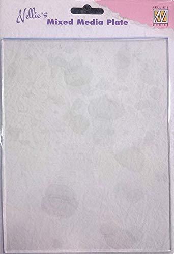 Nellie's Choice Mixed Media Plate NMMP001, Gelplatte ca. 14,8 cm x 19,9 cm