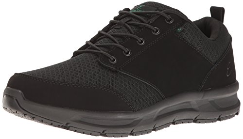 Emeril Lagasse Men's Quarter Mesh  Slip-Resistant Shoe, Black, 10.5 D US