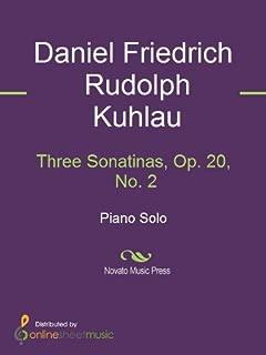 Three Sonatinas, Op. 20, No. 2