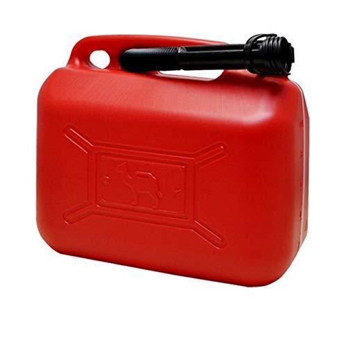 Bidón / Garrafa Plástico Gasolina/Diesel 20L homologado, Incluye Embudo (20 Litros)