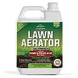 PetraTools Liquid Aeration for Lawn with Humic & Fulvic Acid Biostimulants, Liquid Aerator, Liquid Aerator, Soft Soil Liquid Aerator, Lawn Aeration, Soil Loosener, Soil Aerator, 40,000 sq ft (32 Oz)