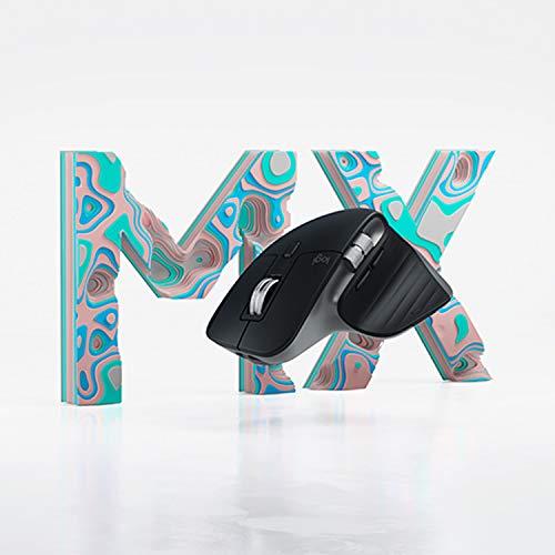 Logitech MX Master 3 – Die fortschrittliche, kabellose Maus für Mac, Ultraschnelles Scrollen, ergonomisches Design, 4.000 DPI, individualisierbar, USB-C, Bluetooth, für MacBook und iPad, Grau - 9