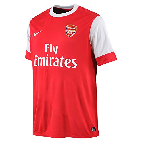 Nike Arsenal Short Sleeve Home Jersey 2010/2011 - XX Large Red