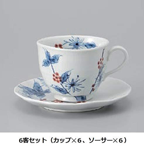 エールネット(Ale-net) コーヒーの木コーヒーカップ 6客セット
