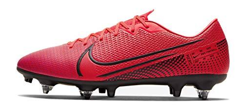 Nike voetbalschoen Mercurial Vapor 13 Academy SG-PRO Laser Crimson, maat: 40.5