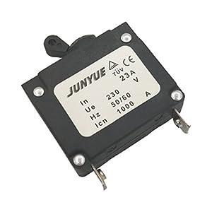 Cancanle 9.1a Disyuntor Eléctrico para Honda GX160 Yamaha EF2600 La Mayoría del Generador De 2KW 2.5KW 3KW 1800 2500 2600