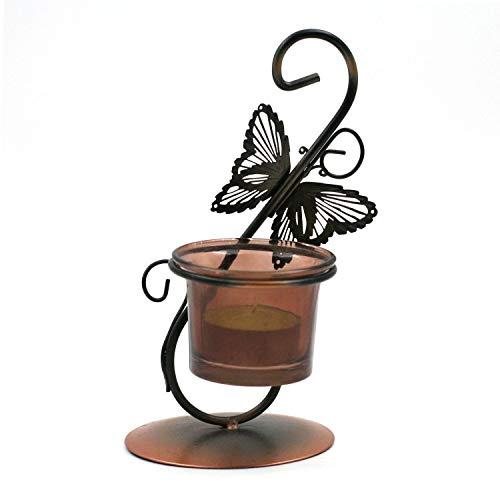 Bougeoir pour Chauffe-Plat - Papillon