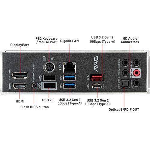 MSI MAG B550M MORTAR Scheda madre ATX AMD AM4