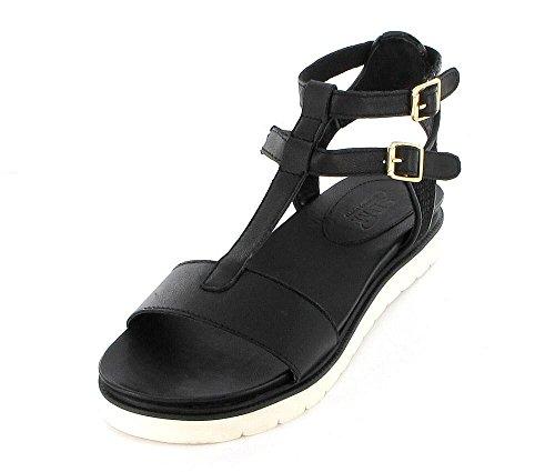 SPM Gull Sandale schwarz Black/Black Echt Leder 16575084-000 (39)