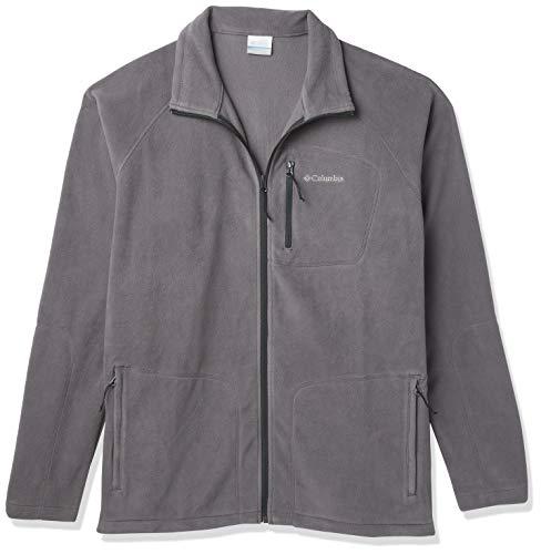 Columbia Men's Fast Trek II Full Zip Fleece Jacket, Collegiate Navy, Small