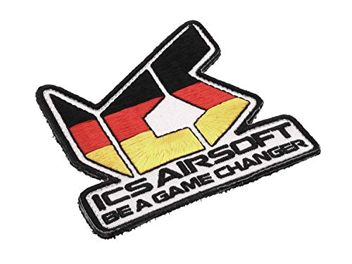 I.C.S. ICS Airsoft Germany -Be a Game Changer- Aufnäher mit Klett