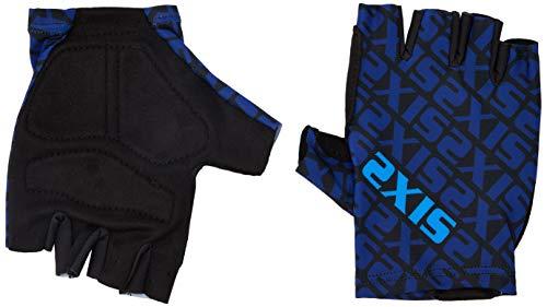 SIX2 Blue-S, Guanto Estivo Ciclismo S Unisex Adulto, S