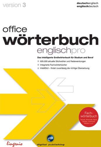 office wörterbuch 3.0 pro Deutsch/Englisch [import allemand]