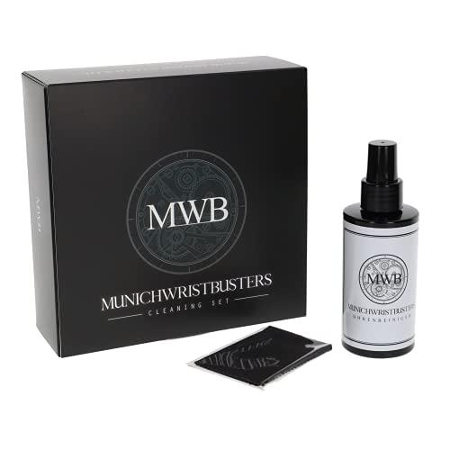MWB Luxus - Limpiador de relojes con sellador, botella de cristal de...