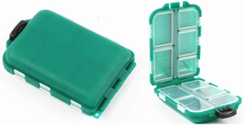 Toasis Mini Alternative dealer Fishing Tackle Box Small Sinkers Swivels Stora Hooks In a popularity