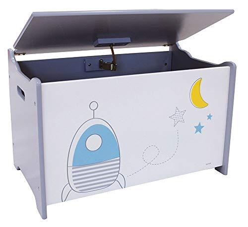 FUN HOUSE 713043 ESPACE - Baúl de juguetes para niños a partir de 3 años