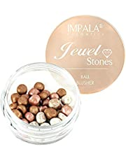Impala Perlas Bronceadoras Facial Ball Blusher Jewel Stone Color 1 Bronce