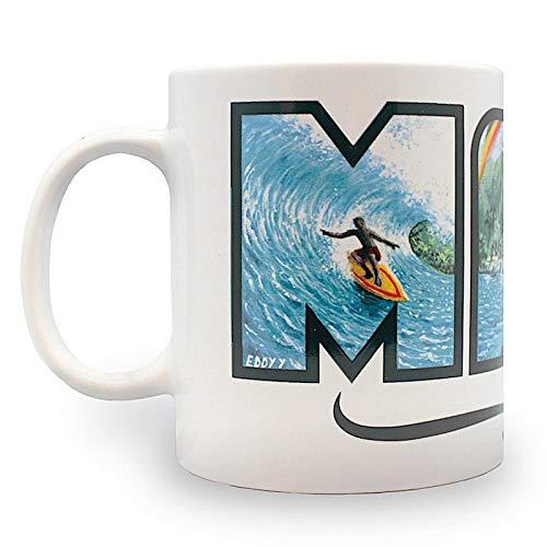 Kaffeebecher mit hawaiianischem Motiv Eddy Y, Maui – Hawaii, 400 ml