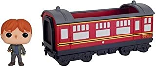 Funko POP Rides: Harry Potter - Hogwarts Express Train car with Ron Weasley Action Figure