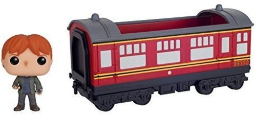 Funko POP Rides: Harry Potter - Hogwarts Express Train car with Ron Weasley Action Figure image