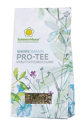 SonnenMoor Mann o Mann - PRO Tee - lose, natürliche Kräuterteemischung - Prostatatee- unterstützt den Mann auf natürliche Art und Weise