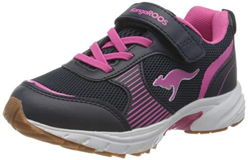 KangaROOS Niko II EV Sneaker, Dk Navy/Daisy Pink, 29 EU