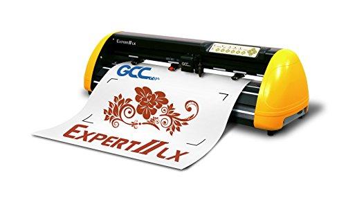 GCC Expert II EX II della 24LX plotter da taglio giallo/nero