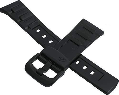 Correa de reloj Casio original para BGD-120P BGD-121 BLX-100 negro 10349450