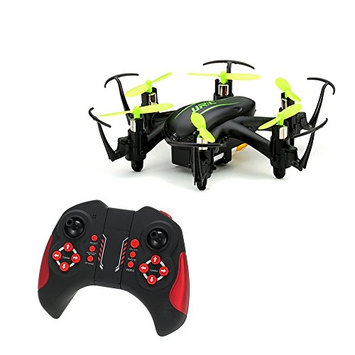 JJRC h20 C Mini Drone con 2.0 MP HD fotocamera Headless modalità One Key 2.4 G to Return 6 CH 3d flip modalità CF RC Quadcopter( verde)