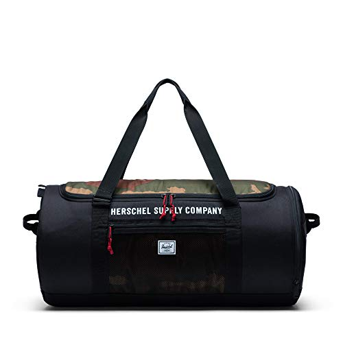 Herschel Supply Co. Sutton Carryall Black/Woodland Camo One Size