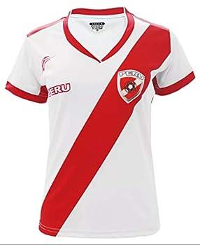 Arza Sports Peru Women Soccer Jersey  Small  White