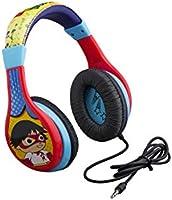 Ryans World Kids Headphones, Adjustable Headband, Stereo Sound, 3.5Mm Jack, Wired Headphones for Kids, Tangle-Free,...