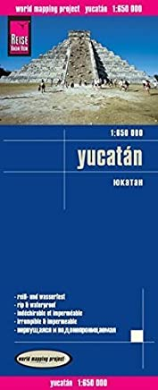 Yucatan Peninsula by Reise Know-How Verlag(2014-01-01)